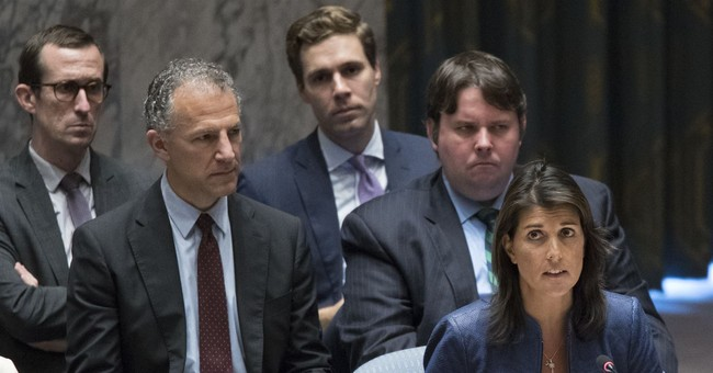 Nikki Haley Warns Assad Regime of 'Dire Consequences'