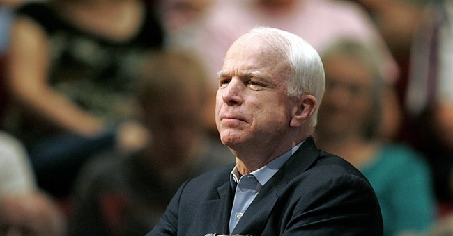 McCain 'Partially to Blame' for White House Flag Says GOP Sen