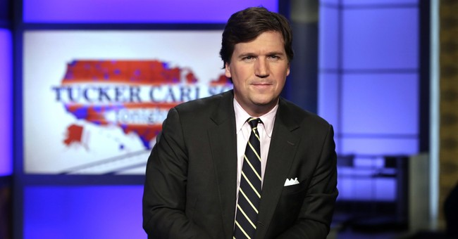 Left wing extremists attack Tucker Carlson's home, trapping his wife alone inside