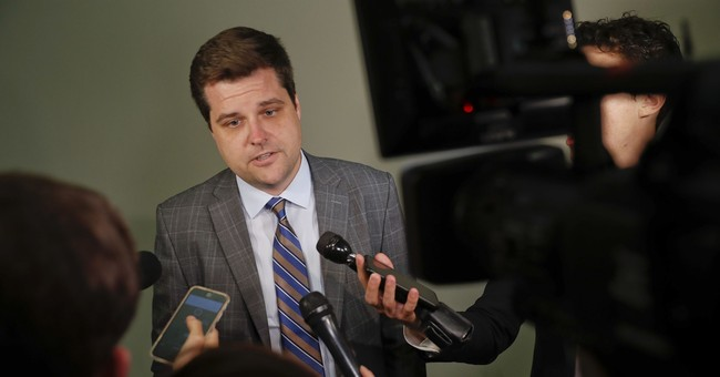 Sore Loser: Rep. Gaetz's Former Opponent 'Milkshaked' Him Following A Town Hall