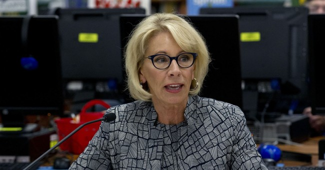 CNN Attacks Betsy DeVos For Visiting Catholic Elementary School