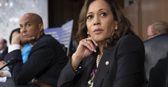 Politifact Calls Out Kamala Harris for Falsely Claiming Kavanaugh Called Birth Control 'Abortion-Inducing Drugs'