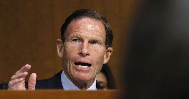 Sen. Richard 'Stolen Valor' Blumenthal: The FBI is Complicit in a Kavanaugh Cover-up, Or Something!
