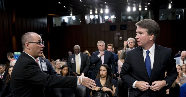 White House Defends Kavanaugh Against Claim That He Snubbed Parkland Shooting Victim's Father at Hearing