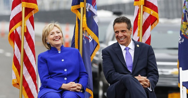 Hillary Clinton Andrew Cuomo - Insanity Wrap Says They Deserve Each Other