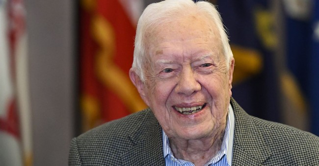 Jimmy Carter Goes Off the Conspiracy Theory Deep End on Trump