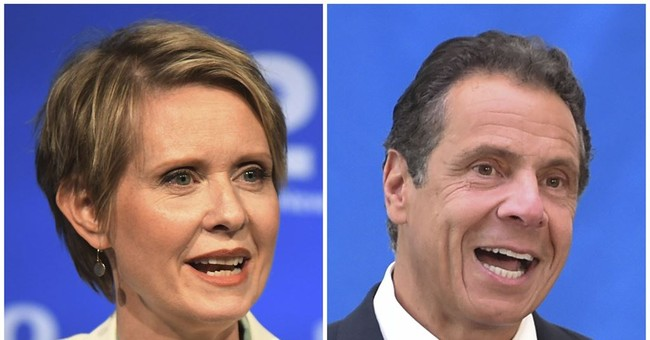 New York's big Thursday gubernatorial primary pits Andrew Cuomo against Cynthia Nixon