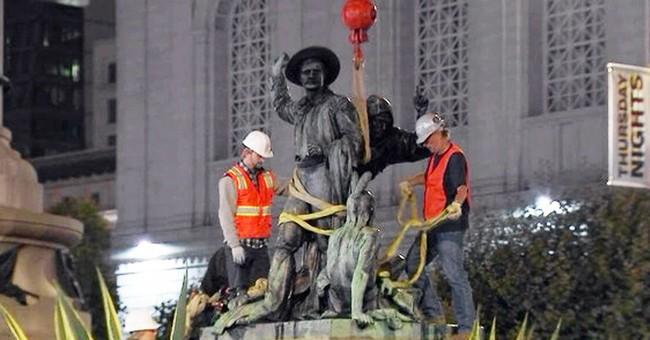 The Anti-Statue Mobs Undermine Democratic Norms