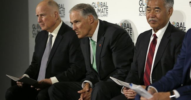 Gov. Jay Inslee Compares Climate Change to Terrorism