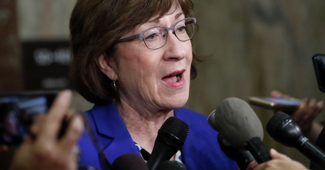 Sen. Collins Calls on Kavanaugh Accuser to Testify Publicly or Privately Before Senate