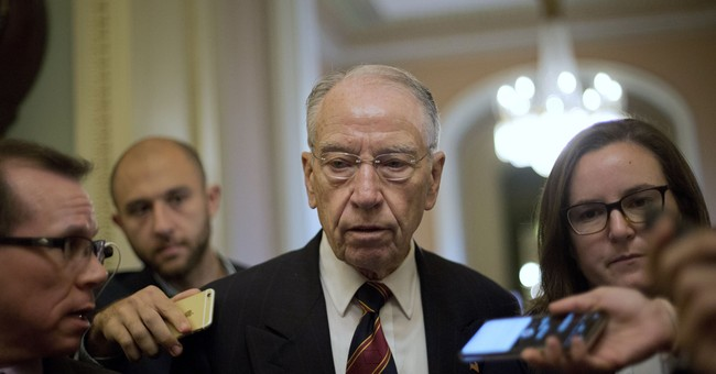 Grassley: Judiciary Committee Willing to Make Concession for Blasey Ford