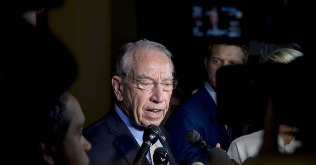 Bluff Called: Grassley Gives Debra Katz & Co. One More Day