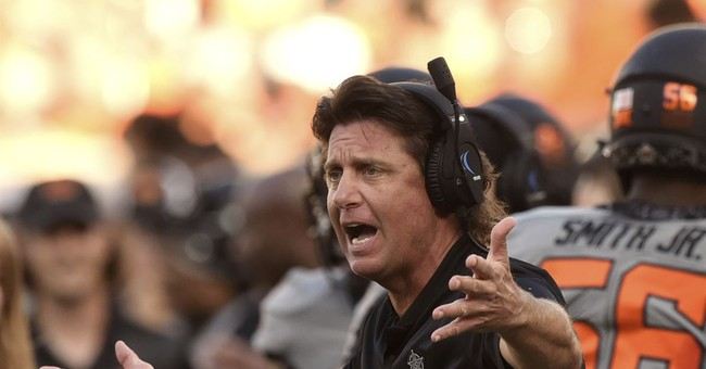 The Liberal Mob Forces OSU Football Coach to Apologize for Wearing a T-shirt