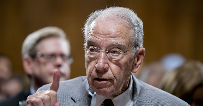 Grassley Has Been Briefed on FBI Report--Here's How He Describes It