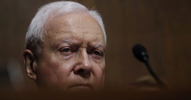 Sen. Hatch Asks Why a 'Porn Star Lawyer' Is Controlling the News Cycle