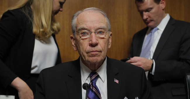 Grassley: Kavanaugh Vacancy on DC Circuit Can Be Filled This Year, But...