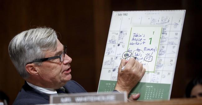 Tom Cotton Mocks Dem Senator for Treating Kavanaugh Calendar Like the 'Da Vinci Code'