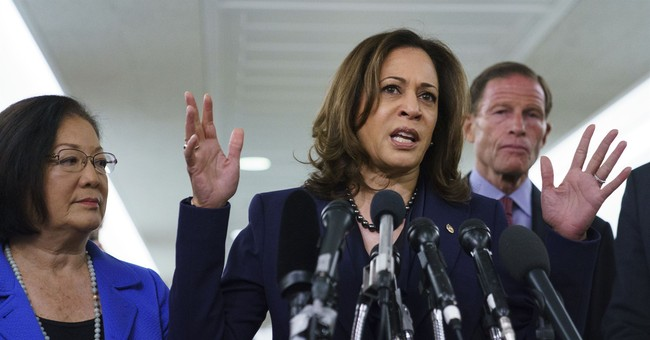Sen. Harris Claims the Dem Walkout of Kavanaugh Hearing Was Not Planned