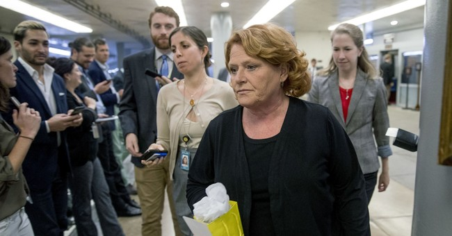 Heitkamp Was Leaning 'Yes' on Kavanaugh, Until...