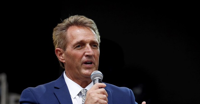 Flake Says the FBI Investigation Will Be 'No Good' If It 'Just Gives Us More Cover'