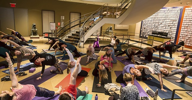 Progressive Yoga Studio Hoisted by Their Own Petard, Canceled for 'Performative Activism'
