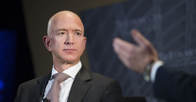 Protesters Set Up 'Guillotine' In Front of Jeff Bezos's House