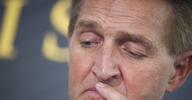 Sen. Jeff Flake's Nauseating Obstructionism Over Protect Mueller Bill Delayed 21 Trump Judicial Nominations