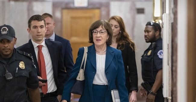 Sen. Susan Collins Burns Sara Gideon for Dodging Question on Court Packing