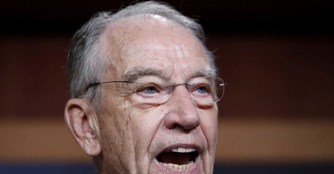 Grassley Chimes In on the Decision to Move Forward with a SCOTUS Nominee