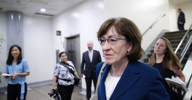 As 2020 Looms, Susan Collins Takes A Shot At Chuck Schumer