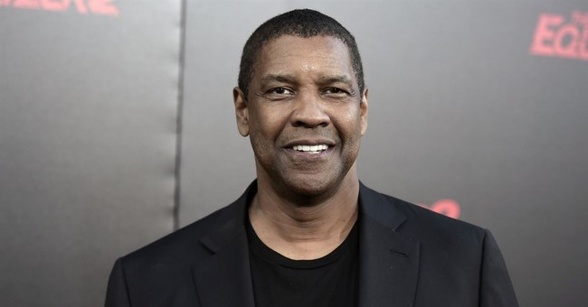 More of This Please: Denzel Washington Peacefully Mediates Between Cop and Homeless Man