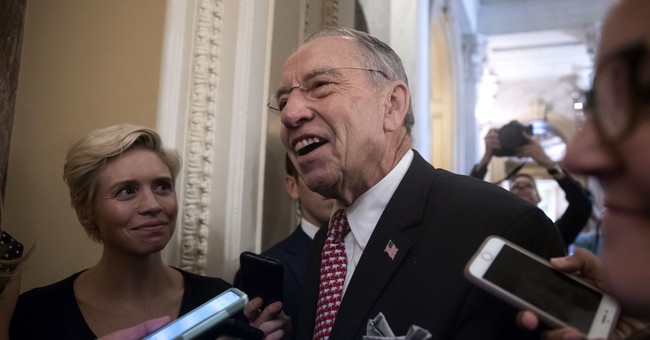 Grassley Steps Down from Judiciary Committee...Paving Way for Lindsey Graham?