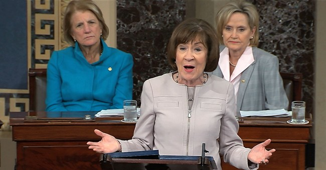 Planned Parenthood Turns on Their Former Champion Sen. Collins Over Her Kavanaugh Vote