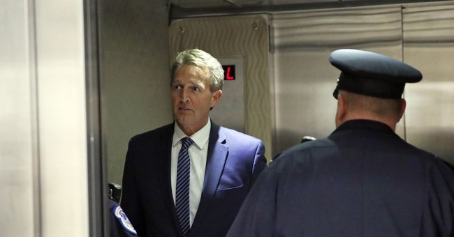 Oh, Here We Go: Jeff Flake Holding Up Trump's Judicial Nominees Until Senate Votes On Bill Protecting Mueller Probe