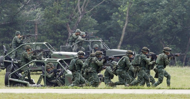 U.S. Troops Have Been Secretly Training Taiwan's Military: Report