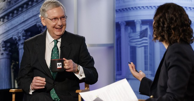 McConnell Jokes There May Be an 'Attendance Problem' Among Dem Senators Due to 'Presidential Wannabes'