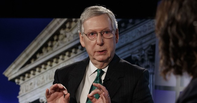 WATCH: McConnell Has A Two-Word Message For Democrats Lamenting Mueller's Findings