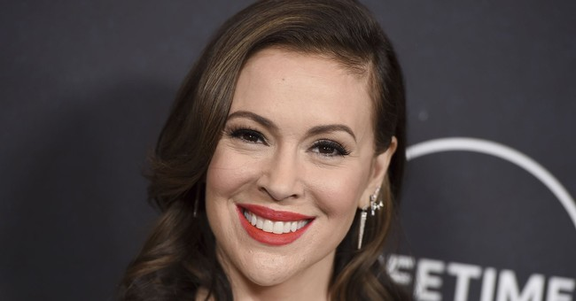 Alyssa Milano Donned a Mask. There's Just One Problem.