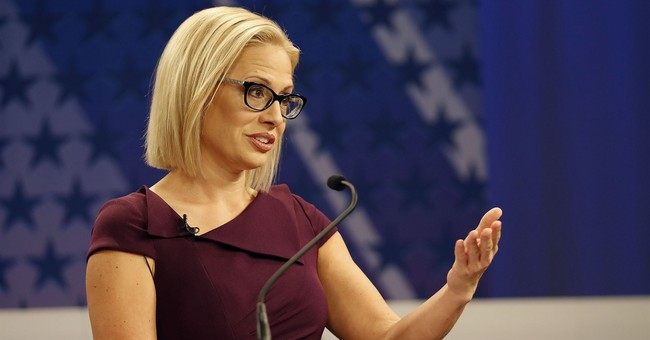 AZ Sen: Democrat Kyrsten Sinema's Senate Bid Has Become A Total Train Wreck