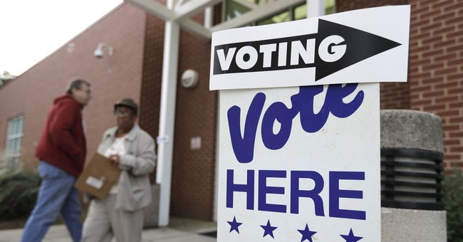 Scenes from the First Day of Early Voting in North Carolina