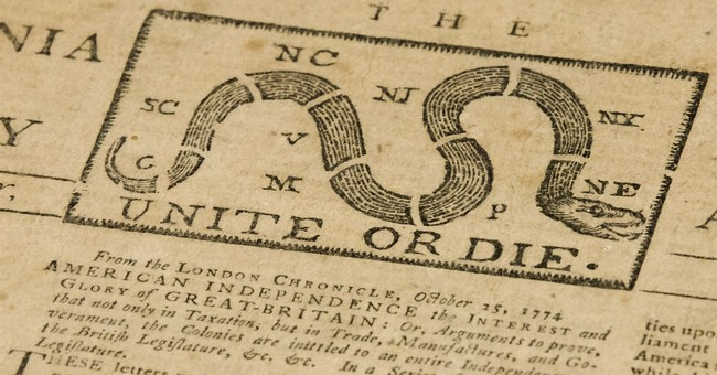 Goodwill Workers Find Original 1774 Newspaper With 'Unite or Die' Political Cartoon in Donations