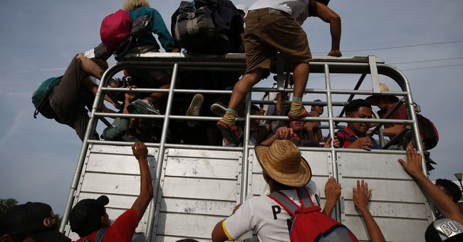 The Central American Caravan Is 'Taking a Break' After...