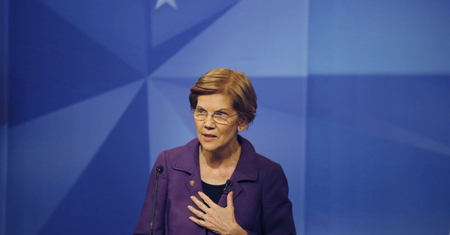 Voter confronts Elizabeth Warren over her DNA test. Warren's response is mind-boggling
