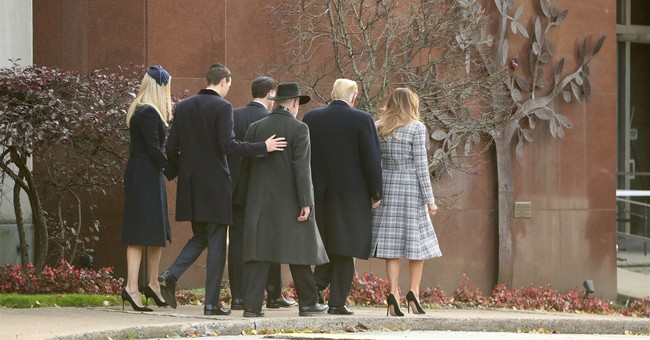 Rabbi for Tree of Life Synagogue Says He Saw a 'Warm and Personal' Side of Trump
