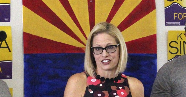 Sinema Came To Her Senses And Realized People Are Taking Advantage Of Our Asylum Process
