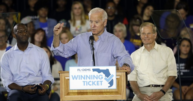 Uncle Joe Biden Meets Hollywood McCarthyism -- and Folds