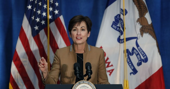 GOP Iowa Gov. Kim Reynolds Wins Re-Election