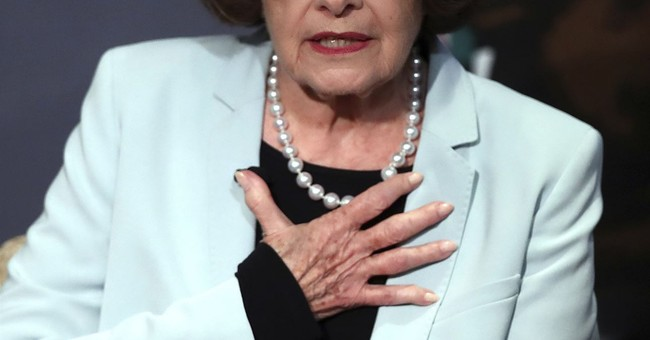 Kudos to Dianne Feinstein