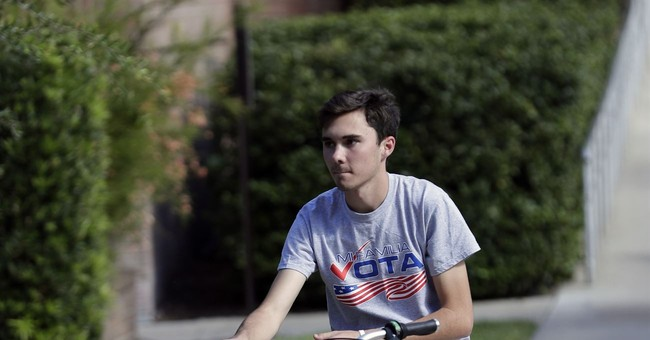 David Hogg Continues His Martyr Complex With Bizarre Request