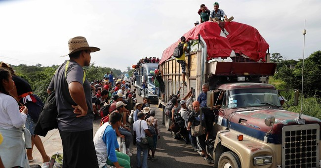 Strange: Caravan Riders File Class Action Lawsuit Against the U.S. For Violating Their Constitutional Rights
